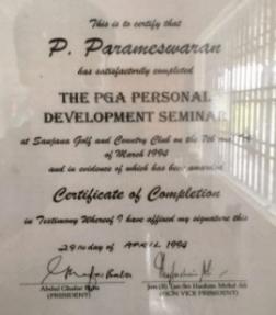 P. Paramaswaran full
